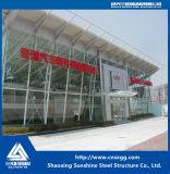Blocco per grafici d'acciaio chiaro con il fascio di alta qualità per la sala d'esposizione dell'automobile