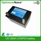 Высокое качество батарея LiFePO4 12V 20AH литий-ионный аккумулятор для ИБП /солнечной энергии аккумулятора
