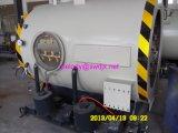 Vacío automático de la pipa que forma la máquina