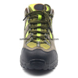 セメントで接合している柔らかいOutsoleの軽量の防水ハイキングの安全履物