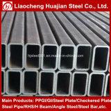 Tube rectangulaire galvanisé chinois pour des matériaux de constructions
