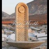 Fontaine de mur antique de travertin pour les meubles Mf-1037 de jardin