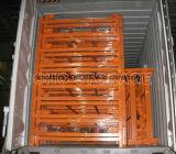 Memoria accatastabile d'profilatura del metallo della rete metallica che impila contenitore