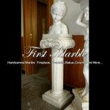 Busto bianco di Carrara per la decorazione domestica Ms-2006