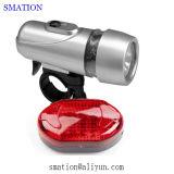 Дешевые Безопасность Лазерная Дети Назад LED Tail Задний свет велосипеда