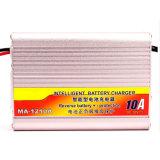 DECKEL-Ladegerät der silbernen Farben-Ma1210 Aluminium