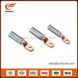 Het aluminium-Koper van Dtl cal-C de Bimetaal EindHandvaten van de Kabel van de Las van het Koper