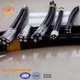 Cuadruplex PVC Drop Urd Poder XLPE Electric Aluminio ABC Cable