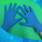 [هيغقوليتي] مستهلكة نتريل فحص قفازات مع لون زرقاء