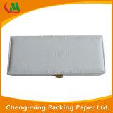 Caixa de papel dobrável de retângulo de cartão de luxo para presente