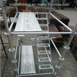 Construction Material를 위한 Ringlock Scaffolding