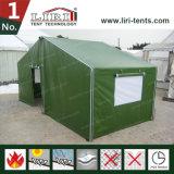 Barraca militar do exército do PVC do verde de alumínio do frame