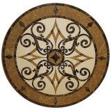 Venta caliente medallón de mosaico de mármol para suelos Design