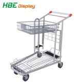2つの車輪2のステップスーパーマーケットのための小型梯子のトロリー