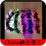 Wasserdichte Weihnachtszeichenkette-Leuchte der roten Farben-LED