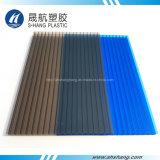 De Plastic Plaat van het Dakwerk van het Polycarbonaat van Glittery met UVBescherming