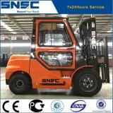 Грузоподъемник дизеля 3 тонн автоматической кабины A/C