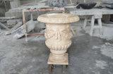 정원 & Home Decoration를 위한 우아한 Marble Flowerpot Sand Stone