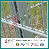 Alto Límite Elástico 656 o 868 la doble valla de alambre galvanizado en caliente/valla de malla soldada