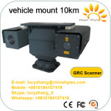 Камера IP лазера ультракрасная PTZ ночного видения блока развертки держателя Vehiclae используемая автомобилем