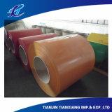 Bobina de aço revestida cor Prepainted bobina de PPGI