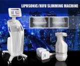 Peso perdidoso de la carrocería profesional y ajuste de la dimensión de una variable de Hifu de la piel que adelgaza la máquina Liposonic que adelgaza la máquina