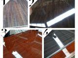 アフリカへの高い光沢のある一等級のメラミン合板の大理石カラー合板