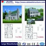 Быстрое строительство сборных роскошь сегменте панельного домостроения стали Вилла