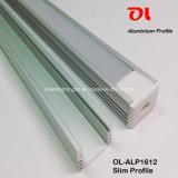 Profilé en aluminium anodisé Slim en aluminium (ALP1612)