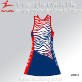 Healong Custom Sublimation Design Any Logo Women Netball Dress