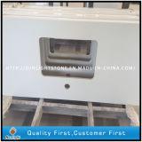Ausgeführter künstlicher reiner weißer Quarz-Stein für Countertops/Worktops