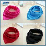 女性のための習慣100%の絹のスカーフの正方形の絹のスカーフ