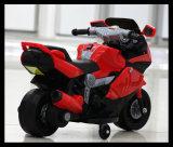 Das crianças elétricas de controle remoto do triciclo da carga elétrica de carro de bateria motocicleta