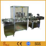 Máquina de etiquetas líquida do capsulador do bujão do enchimento do álcôol de China