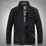 Rivestimento medio del collare del basamento del cotone di stile per i vestiti dell'uomo