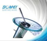 Plaque de verre à poignée unique Cascade robinet (BM50701)