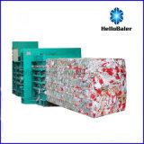 Hellobaler Hfa20-25에서 수평한 폐지 포장기