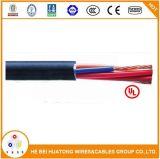 600V 2 Core 14AWG 6 AWG PVC/isolation en nylon et de contrôle d'alimentation câble type TC avec UL1277