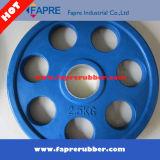 Body Building / Producto de Fitness Grip Olímpico placas de goma Peso / Dumbbell Set