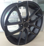 Borda de alumínio da roda da liga do tipo da ameia de 19 polegadas para carros de passageiro