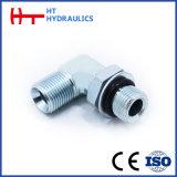 Raccord de flexible hydraulique d'usine professionnels de l'adaptateur coudé JIC mâle /NPT (1JN9)