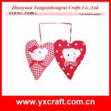 Regalo del cuscino dell'orso di amore del campione libero delle decorazioni del biglietto di S. Valentino (ZY6480-1)