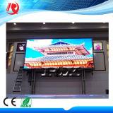van de LEIDENE van de Hoogte van het Pixel van 4mm Binnen LEIDENE Vertoning van het Stadium P4 VideoMuur