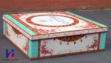 Boîte-cadeau élégante faite sur commande de carton d'impression de couleur de qualité