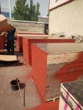 La película negra hizo frente a la madera contrachapada para la construcción del encofrado