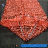 изготовленный на заказ<br/> 15 кг 25 кг красного Raschel мешков для упаковки картофеля