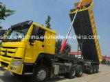 Carro del semi-remolque del volquete del precio bajo HOWO 40 toneladas