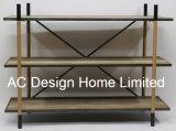 Antieke Uitstekende Houten Decoratie/de Plank van de Opslag van het Metaal
