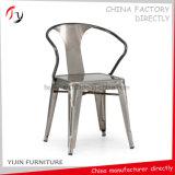 Roter Rahmen-hölzerner Sitzarmlehnen-Küche Dinette Stuhl (TP-54)