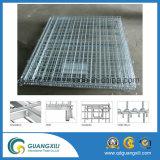 Caixa ou recipiente Foldable do engranzamento de fio do metal do armazenamento do armazém para a venda